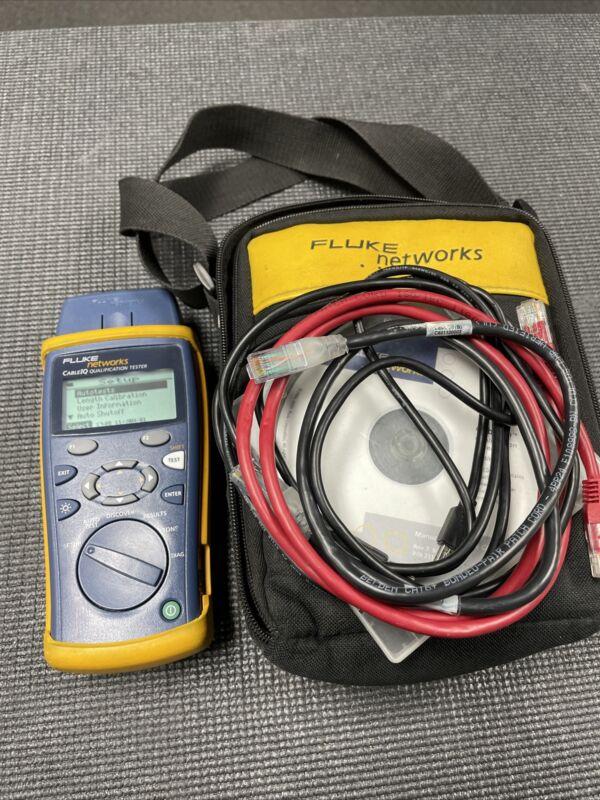Fluke Networks CableIQ Qualification Tester