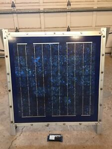Solar panel and charge controller