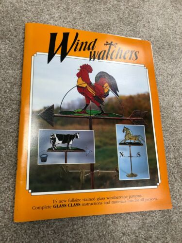 Wind Watchers by Walrus Publications, Stained Glass Weathervane Pattern Book, 19