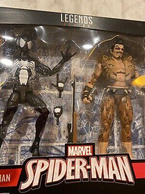 marvel legends spiderman kraven 2 pack