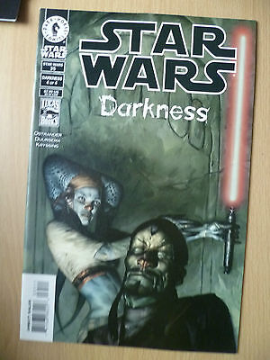 DARK HORSE COMIC STAR WARS 35- DARKNESS No. 4, OCTOBER 2001