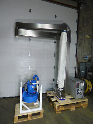 Palpharma Vacuum Lifter Articulating Jib Crane Stainless Steel Way Cool