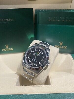 2021 Rolex Oyster Air King 116900 Box & Papers 40mm Stainless steel, Black dial
