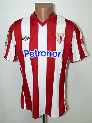 ATHLETIC BILBAO SPAIN 2012/2013 HOME FOOTBALL SHIRT JERSEY UMBRO SIZE M ADULT image