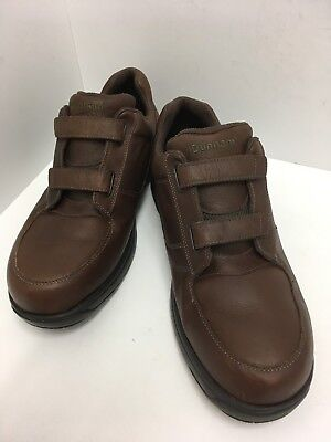 DUNHAM NEW BALANCE 8009SB SLIP RESISTANT Mens 16 4E BROWN LEATHER Sneakers Shoes ()