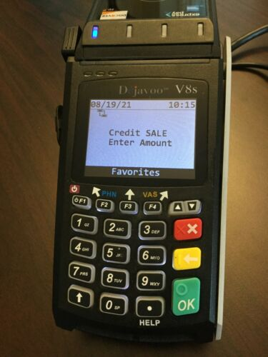 Dejavoo V8S Credit Card Terminal