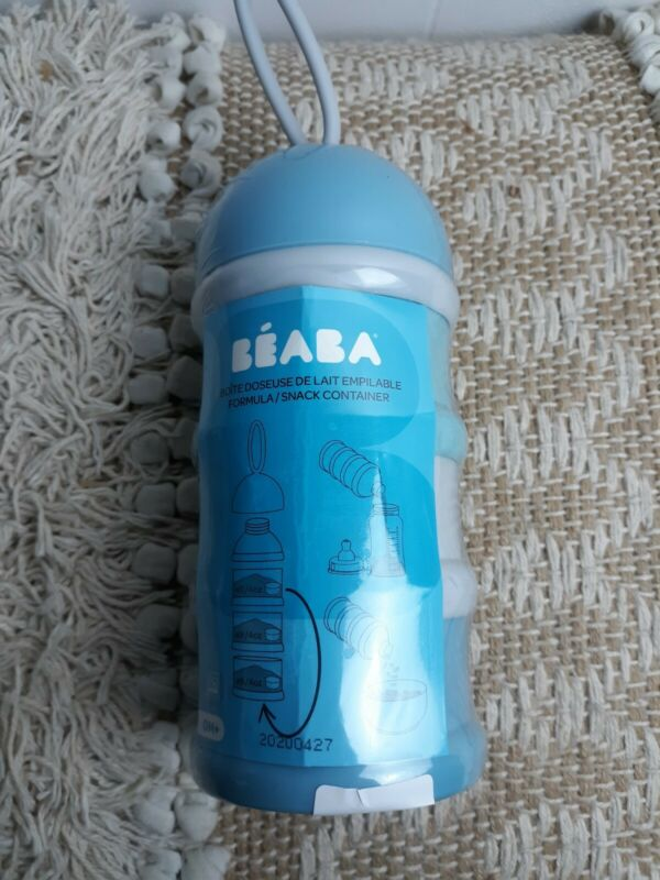 Beaba Stacked Formula Milk Storage Container 4oz partitions B1