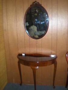 Cedar Hall Table & Mirror Set Windsor Hawkesbury Area Preview