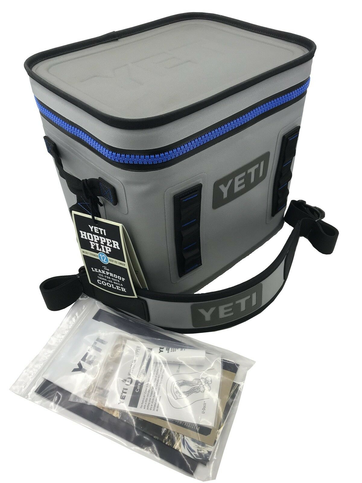 Купить Yeti Cooler Original Hopper Flip 12 Gray & Blue Leakproof