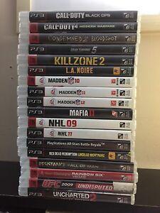 PS3 Games Lot ($75)