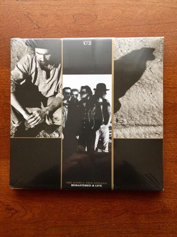 NEW U2 Joshua Tree Singles VINYL 4-Record Set 1987 & 2017 Remastered & Live