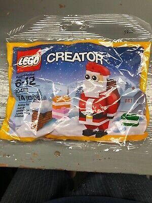 LEGO Santa Christmas Polybag Free Shipping