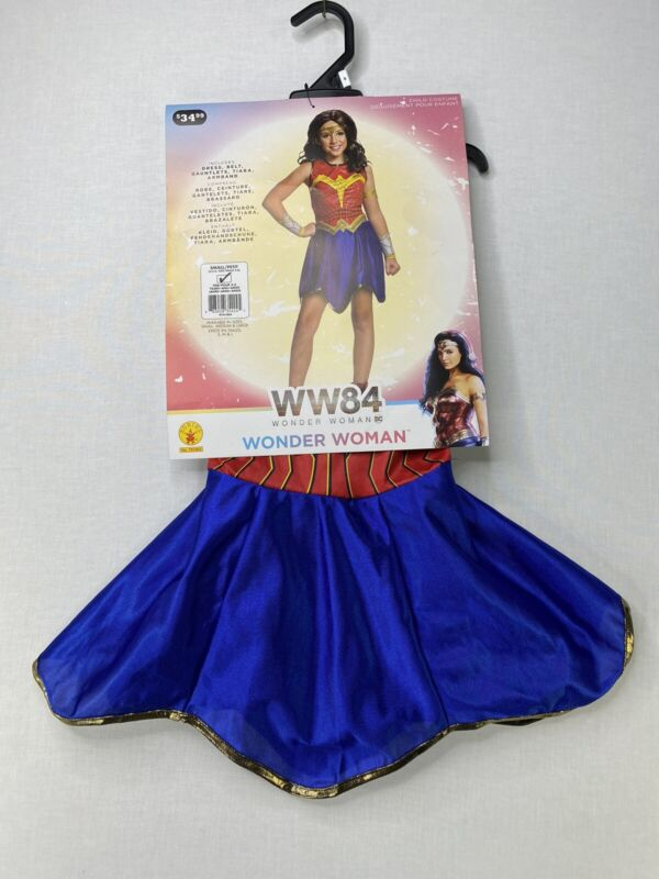 Wonder Woman Toddler Girls Costume New Size 3-4 Years