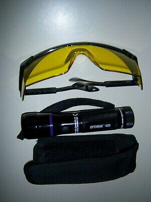Spectroline Optimax 400 Uv Flashlight Made In Usa