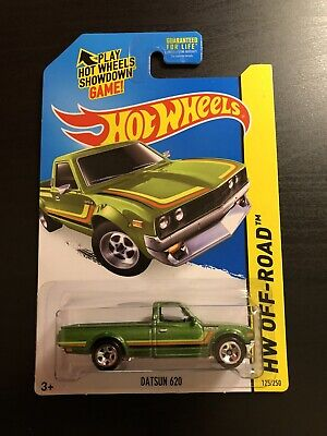 Hot Wheels Datsun 620 Green Hw Off-road 125/250