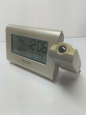 Oregon Scientific Radio Controlled Alarm Clock RMR606HGPA Weather & Projection