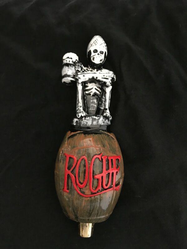beer tap handle stacked skulls miller high life