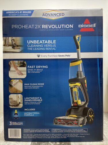 Bissell ProHeat 2X Revolution Deep Clean Carpet Cleaner 1551