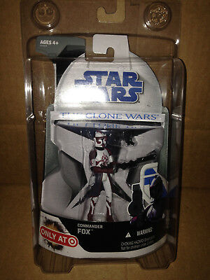 Star Wars The Clone Wars Commander Fox Target Exclusive](Star Wars The Clone Wars Fox)