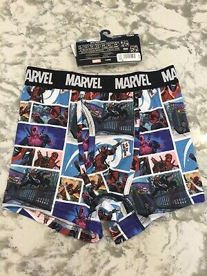 "Men's Marvel Deadpool Grid Shot Boxer Briefs, Small 28-30"",  NWOT, 12192"
