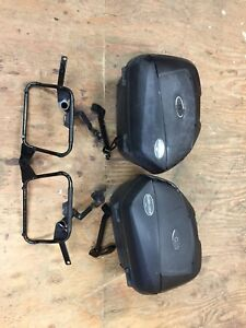 Can am Spyder hard bags