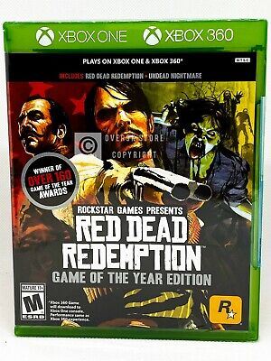 Red Dead Redemption Game of the Year Edition - Xbox One - Brand New