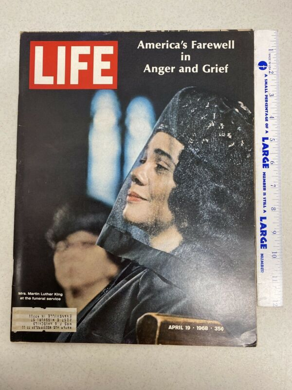 Life Magazine April 19 1968 Martin Luther King Jr.  America's Farewell (Mag-6)