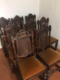 Urgent - Antique Dining Chairs