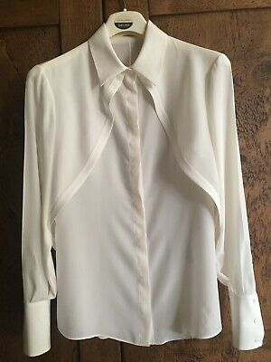 Womens Genuine Alexander McQueen Silk Blouse