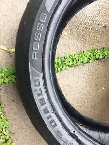 Used Rear 17 inch zr rated motorcycle Tires