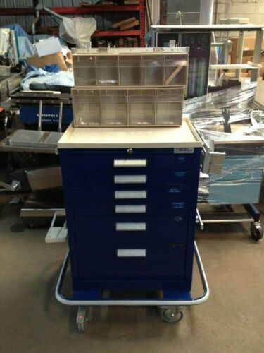 Blue Bell Bio-Medical Six Drawer Medical Crash Cart
