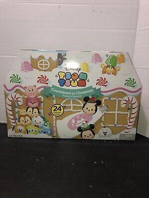 Disney Tsum Tsum Countdown To Christmas Advent Calendar New Unopened 31 Pieces
