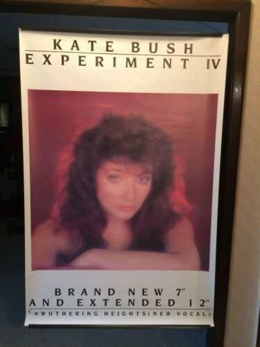 "Kate Bush ""Experiment IV"" 60""x40"" Promotional US Poster"