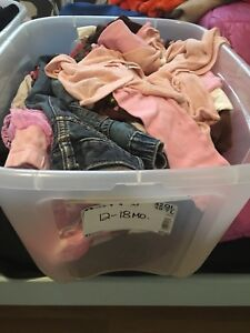 Girl clothes- size 12-18 months