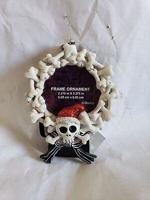 Disney Parks Haunted Mansion Bones Picture Frame Ornament NWT