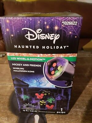 Disney Mickey Mouse Lightshow Projection Plus Whirl-a-Motion Projector (Halloween Projection)