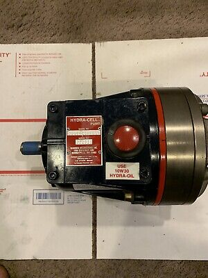 Wanner D11 Hydra-cell Pump Wstainless Head D11ekcthfeca Nos Nib