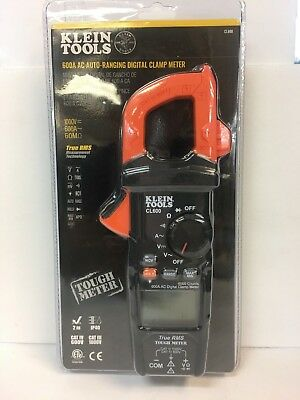 Klein Tools Cl600 600a Ac Auto-ranging Digital Clamp Meter