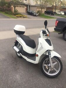 Kymco People 200cc. Great commuter