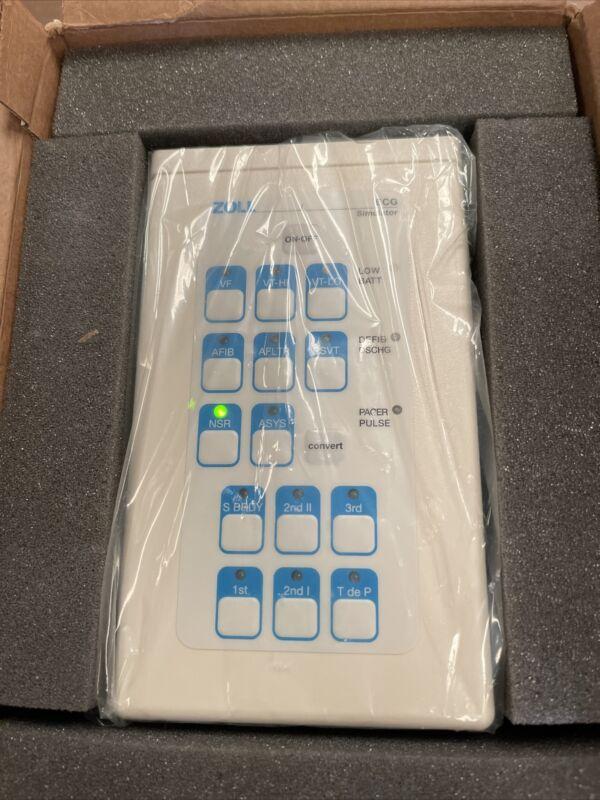 Zoll 3 Ch ECG Simulator PN: 8000-1629. Made in USA