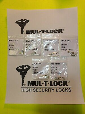 Mul T Lock Cylinder Internal Plug Pin Set Kit For Rekeying Pinning Locksmith