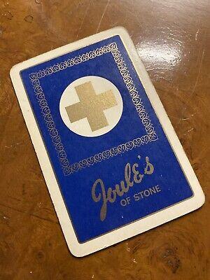Joule's Of Stone Beer Single Swap Playing Card - Vintage BEER