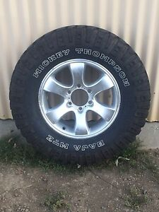 285/70r17 (33') on 17x7.5 alloys Richmond Clarence Area Preview