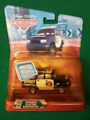 Disney Pixar CARS MEGA RICHARD CLAYTON KENSINGTON 17 diecast security piston cup