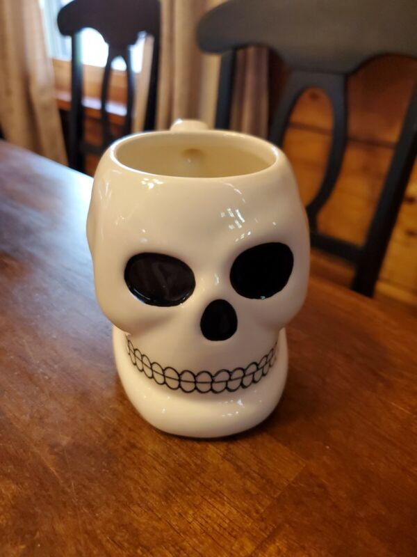 Skull Coffee Cup