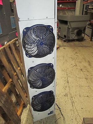 Heatcraft 3 Fan Evaporator System Lca6135ab Lht031l6cf 8903191 Used