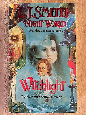 L.J. Smith NIGHT WORLD Witchlight Sanjulian Great Cover Art