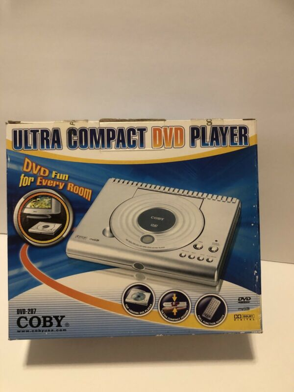 Coby DVD-207 Portable DVD Player