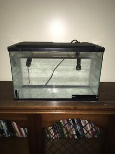 5 gallon fish tank with heater and filter
