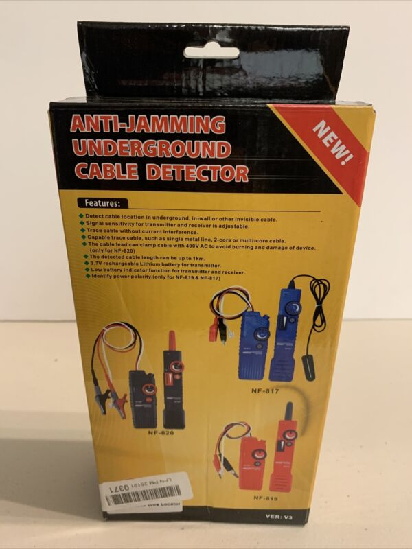 Anti Hamming Underground Cable Detector